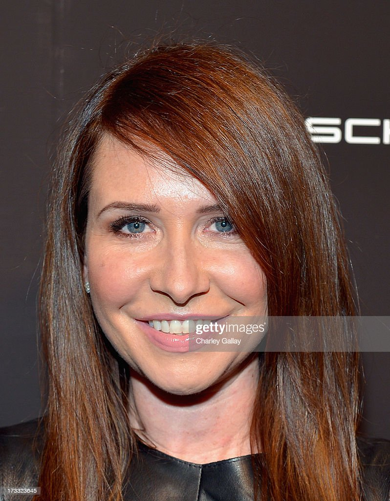Costume designer Janie Bryant attends the Porsche Design and Vogue re-opening event at Porsche Design Beverly Hills on July 11, 2013 in Beverly Hills, California.