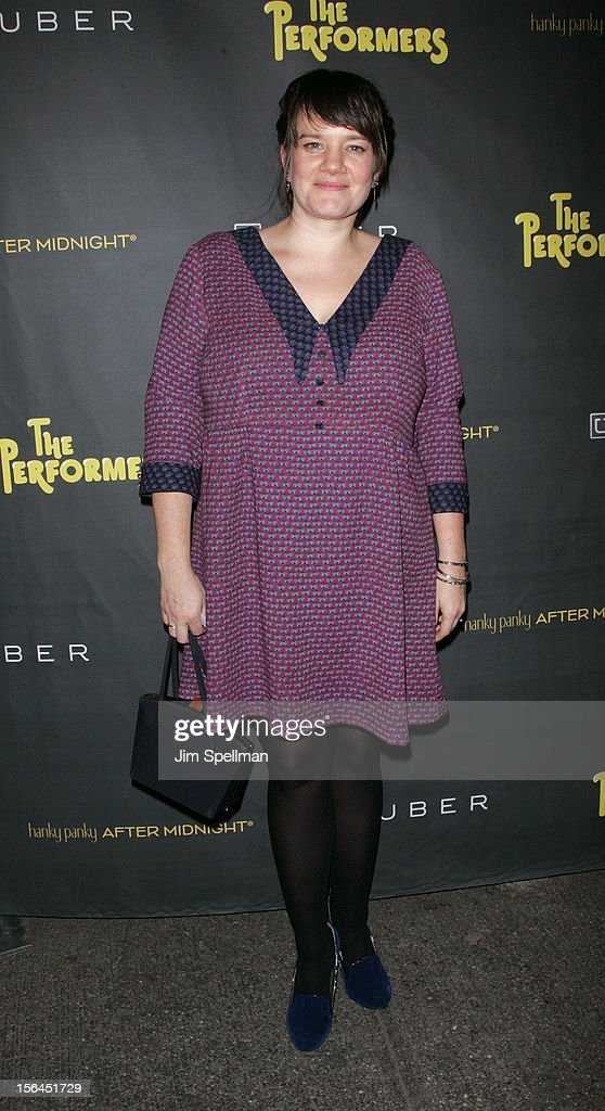 Costume Designer Jessica Wegener Shay attends 'The Performers' Broadway Opening Night at the Longacre Theatre on November 14, 2012 in New York City.