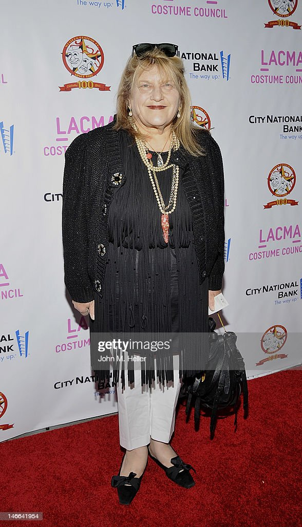 Costume designer Julia Weiss arrives at The Costume Council Of LACMA Celebrates The Western Costume Company: The First 100 Years at the Bing Theatre at LACMA on June 20, 2012 in Los Angeles, California.