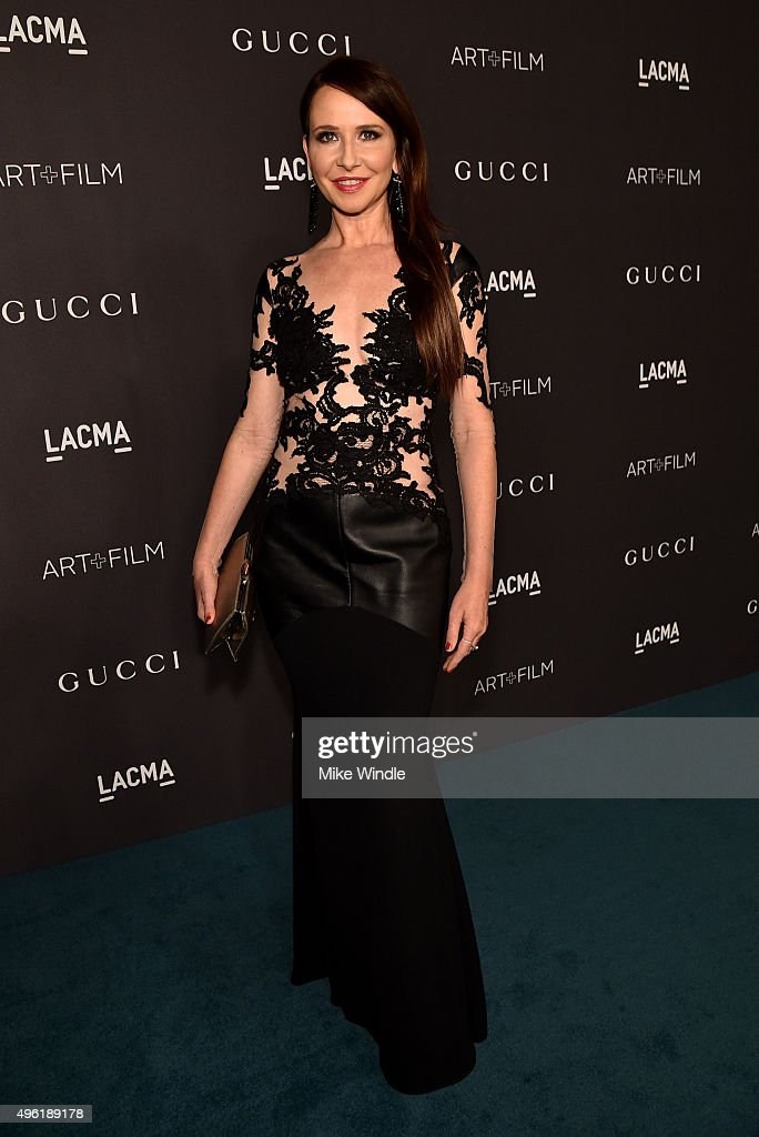 Costume Designer Katherine Jane Bryant attends LACMA 2015 Art+Film Gala Honoring James Turrell and Alejandro G Iñárritu, Presented by Gucci at LACMA on November 7, 2015 in Los Angeles, California.