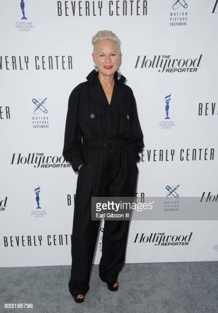 Costume Designer Lou Eyrich attends the Beverly Center And The Hollywood Reporter Present Candidly Costumes at The Beverly Center on August 16 2017...