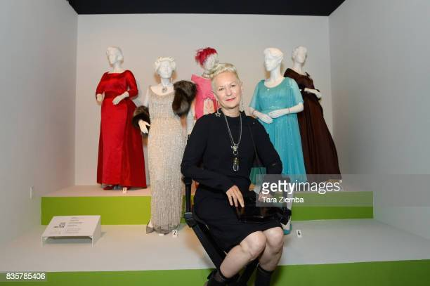 Costume designer Lou Eyrich of the Emmy nominated show 'FEUD Bette and Joan' attends the media preview of the 11th annual 'Art Of Television Costume...