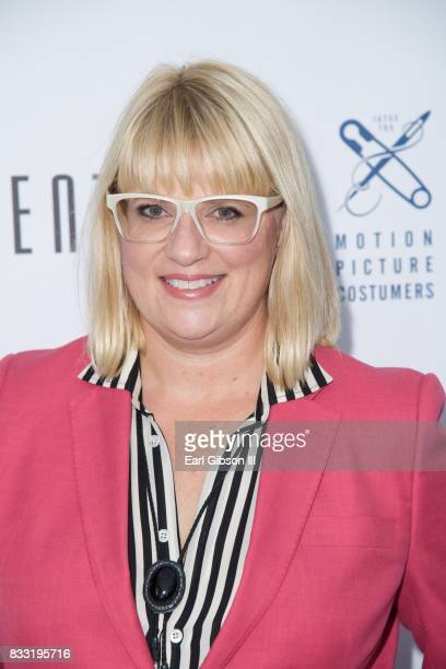 Costume Designer Marie Schley attends the Beverly Center And The Hollywood Reporter Present Candidly Costumes at The Beverly Center on August 16 2017...
