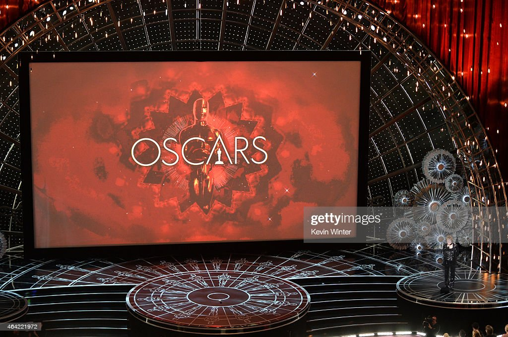 Costume designer Milena Canonero accepts the Costume Design Award for 'The Grand Budapest Hotel' onstage during the 87th Annual Academy Awards at...
