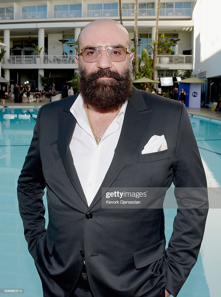 Costume designer <a gi-track='captionPersonalityLinkClicked' href=/galleries/search?phrase=Paco+Delgado&family=editorial&specificpeople=10190996 ng-click='$event.stopPropagation()'>Paco Delgado</a> attends the 88th Annual Academy Awards nominee luncheon on February 8, 2016 in Beverly Hills, California.