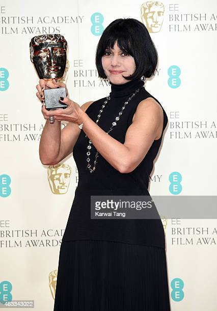 Costume designer Raffaella Fantasia collects on behalf of British costume designer Sammy Sheldon Differ the award for costume design for her work on...