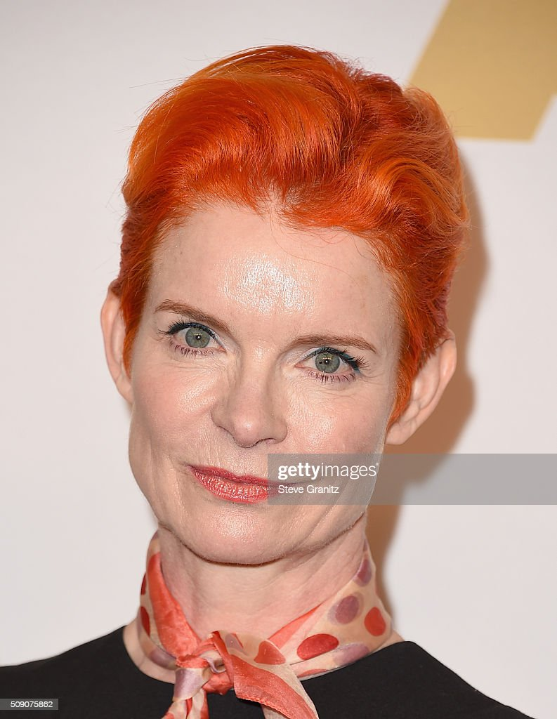 Costume designer <a gi-track='captionPersonalityLinkClicked' href=/galleries/search?phrase=Sandy+Powell&family=editorial&specificpeople=233793 ng-click='$event.stopPropagation()'>Sandy Powell</a> attends the 88th Annual Academy Awards nominee luncheon on February 8, 2016 in Beverly Hills, California.