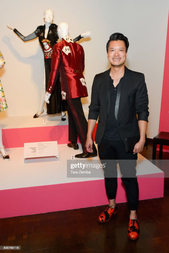 Costume designer Steven Norman Lee of the Emmy nominated show 'Dancing with the Stars' attends the media preview of the 11th annual 'Art Of Television Costume Design' exhibition at FIDM Museum & Galleries on the Park on August 19, 2017 in Los Angeles, California.