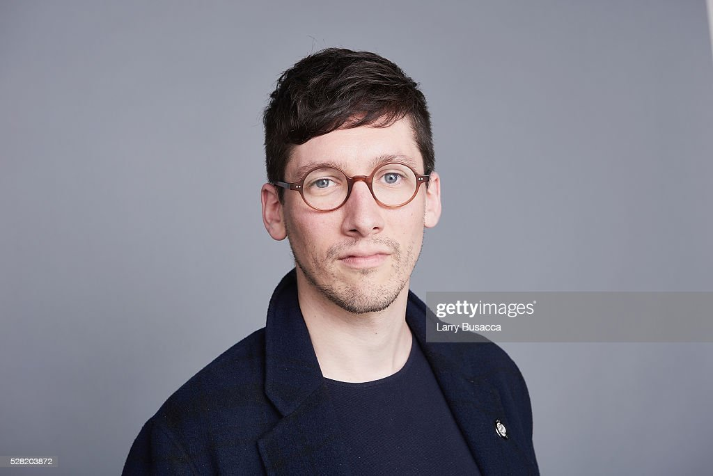 Costume designer Tom Scutt poses for a portrait at the 2016 Tony Awards Meet The Nominees Press Reception on May 4, 2016 in New York City.