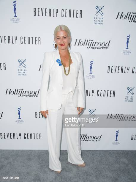 Costume Designer Trish Summerville attends the Beverly Center And The Hollywood Reporter Present Candidly Costumes at The Beverly Center on August 16...