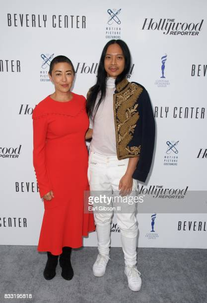 Costume Designers Ane Crabtree and Zaldo Goco attend the Beverly Center And The Hollywood Reporter PresentCandidly Costumes at The Beverly Center on...