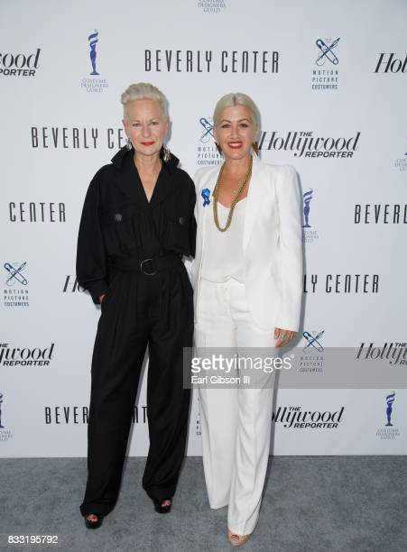 Costume Designers Lou Tyrich and Trish Summerville attend the Beverly Center And The Hollywood Reporter Present Candidly Costumes at The Beverly...