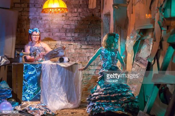 Kostüm für Cinderella