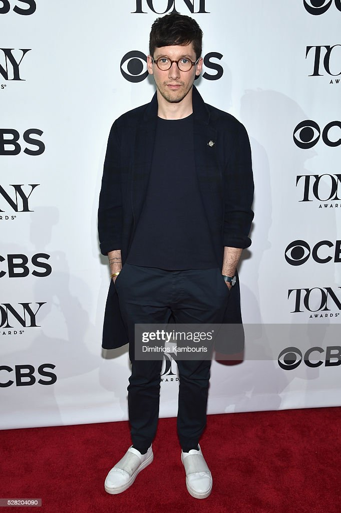Costumer designer Tom Scutt attends the 2016 Tony Awards Meet The Nominees Press Reception on May 4, 2016 in New York City.