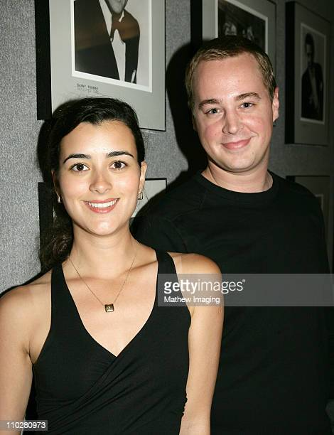 Cote de Pablo and Sean Murra during CBS Paramount Network Television presents 'For Your Consideration' screening of NCIS at Leonard H Goldenson...