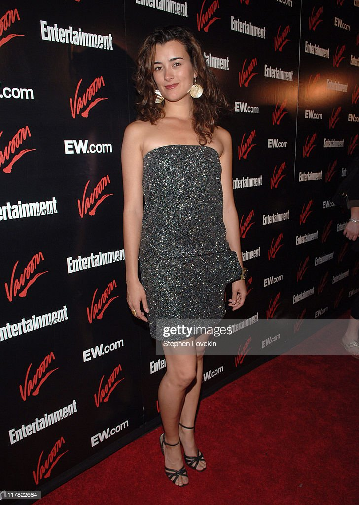 Cote De Pablo during Entertainment Weekly/Vavoom 2007 Upfront Party - Red Carpet at The Box in New York City, New York, United States.