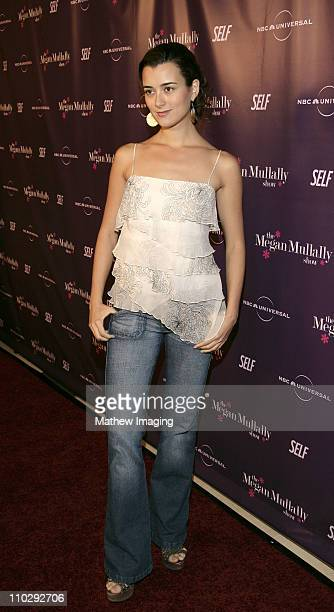 Cote de Pablo during NBC Universal and SELF Magazine Celebrate the Launch of 'The Megan Mullally Show' at Sunset Tower Hotel in West Hollywood...