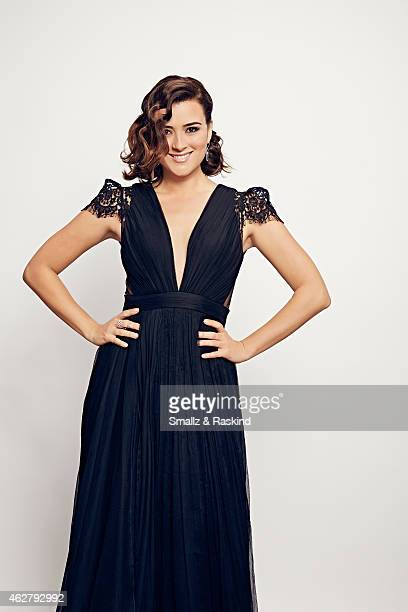 Cote de Pablo poses during the The 41st Annual People's Choice Awards at Nokia Theatre LA Live on January 7 2015 in Los Angeles California