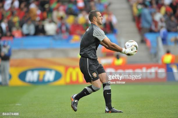 EDUARDO Cote d'Ivoire / Portugal Coupe du Monde 2010 Match 13 Groupe G Nelson Mandela Bay Stadium Port Elizabeth Afrique du Sud Photo Dave Winter /...