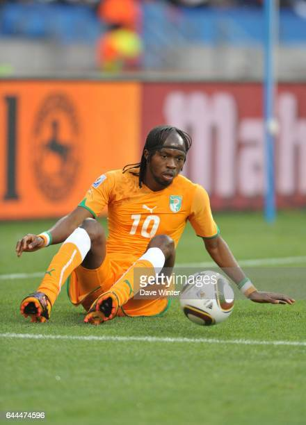 GERVINHO Cote d'Ivoire / Portugal Coupe du Monde 2010 Match 13 Groupe G Nelson Mandela Bay Stadium Port Elizabeth Afrique du Sud Photo Dave Winter /...