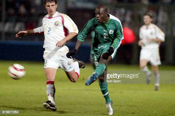 AKALE Cote d'Ivoire / Roumanie Match Amical Stade Leon Bolle Le Mans