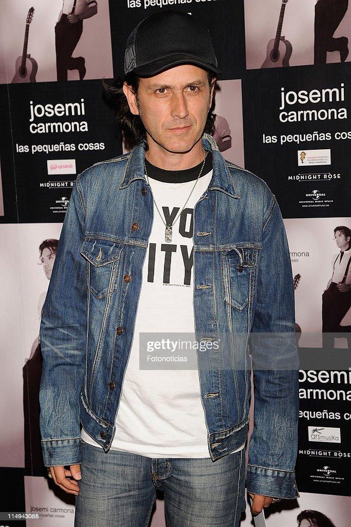 Celebrities attend Josemi Carmona Concert - May 30, 2011