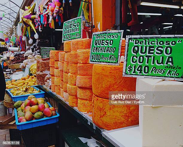 Cotija Cheese For Sale In Market