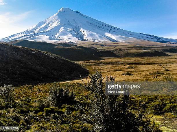 Cotopaxi volcano 5897m