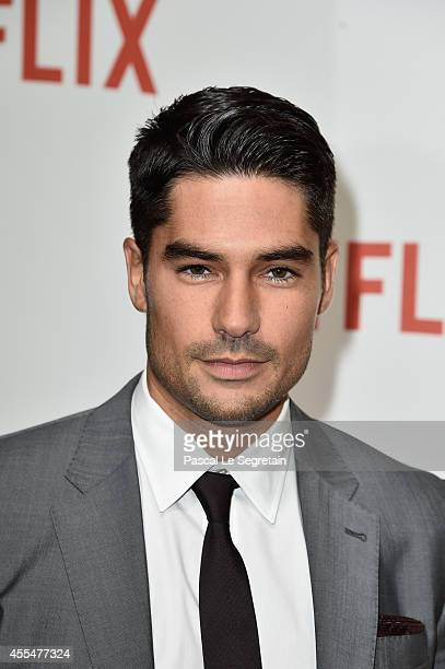 J Cotrona attends the 'Netflix' Launch Party at Le Faust on September 15 2014 in Paris France