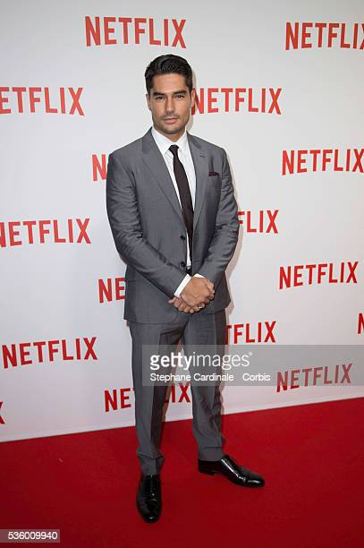 DJ Cotrona attends the 'Netflix' Launch Party at Le Faust on September 15 2014 in Paris France