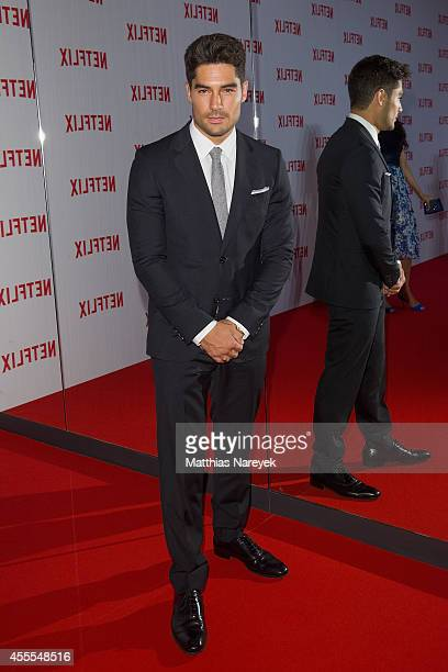 D J Cotrona attends the Netflix pre launch party at Komische Oper on September 16 2014 in Berlin Germany