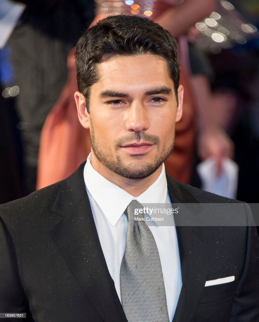 D.J. Cotrona attends the UK premiere of 'G.I. Joe: Retaliation' at Empire Leicester Square on March 18, 2013 in London, England.