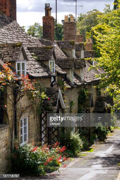 Cotswold cottages in Winchcombe, Gloucestershire, UK.