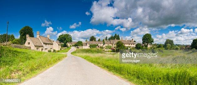 Cotswold picturesque village UK