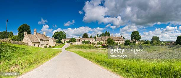 Cotswold village pittoresque au Royaume-Uni