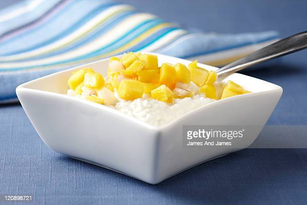 Cottage Cheese With Mango