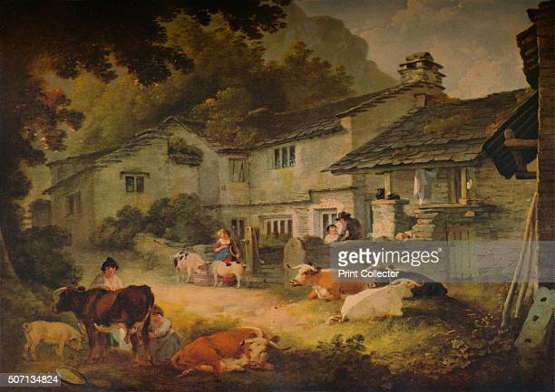 Cottage Scenery with Cattle at Ambleside' 1803 Painting held at the Ferens Art Gallery Kingston upon Hull A Catalogue of the Pictures and Drawings in...