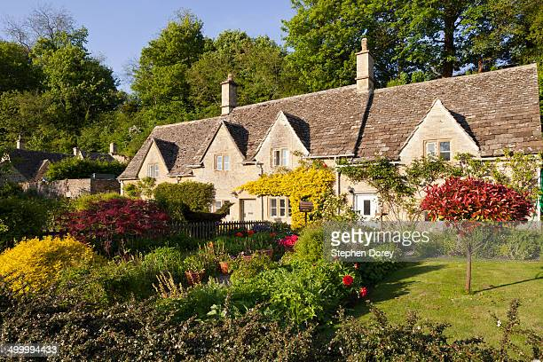 Cottages and gardens, Bibury