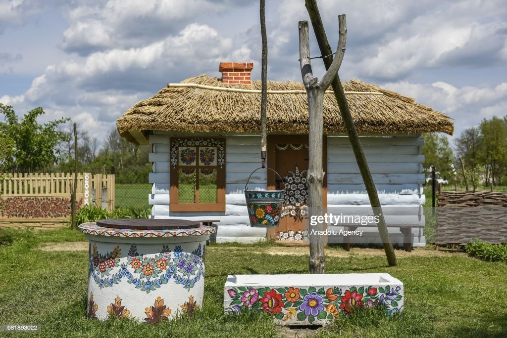 zalipie village in poland pictures | getty images
