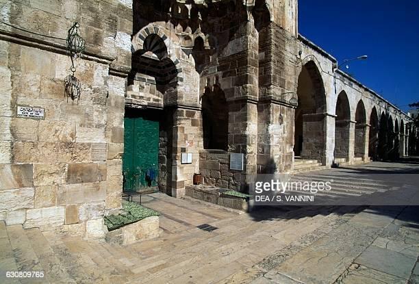 Cotton Merchants' gate Temple Mount or the alHaram alSharif Old City of Jerusalem Israel