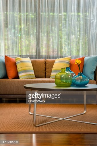 Couch & Table : Stock Photo