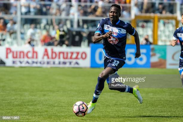Coulibaly Mamadou during the Italian Serie A football match Pescara vs Juventus on April 15 in Pescara Italy