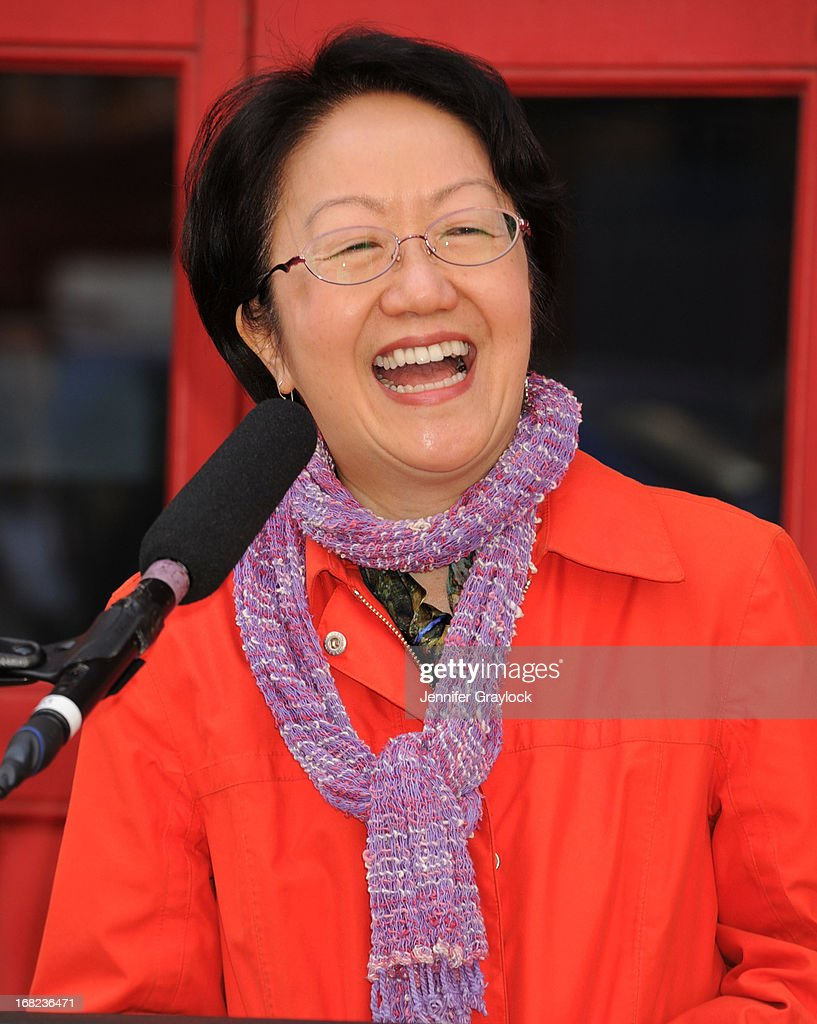Council Member Margaret Chin attends The DCTV Cinema Groundbreaking Ceremony at DCTV on May 7, 2013 in New York City.