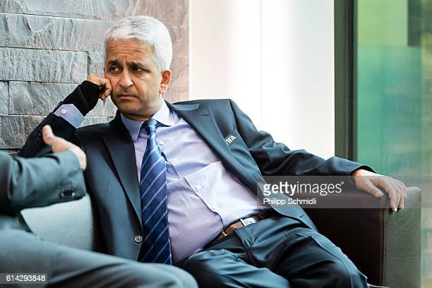 Council member Sunil Gulati looks on prior to part I of the FIFA Council Meeting 2016 at the FIFA headquarters on October 13 2016 in Zurich...
