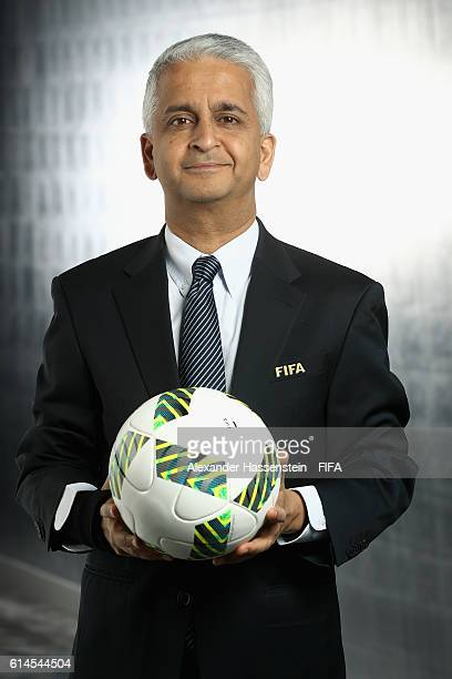 Council member Sunil Gulati poses during a Portrait session at the FIFA headquaters on October 14 2016 in Zurich Switzerland