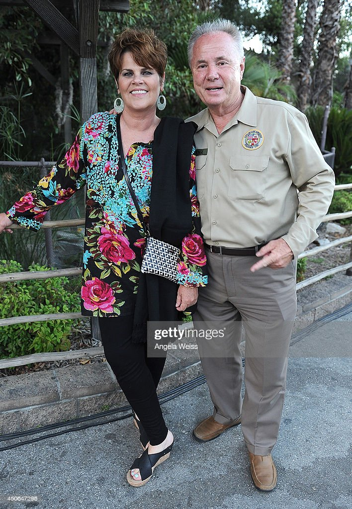Council member <a gi-track='captionPersonalityLinkClicked' href=/galleries/search?phrase=Tom+LaBonge&family=editorial&specificpeople=220711 ng-click='$event.stopPropagation()'>Tom LaBonge</a> (R) and his wife Brigid attend the Greater Los Angeles Zoo Association (GLAZA) 44th Annual Beastly Ball at Los Angeles Zoo on June 14, 2014 in Los Angeles, California.