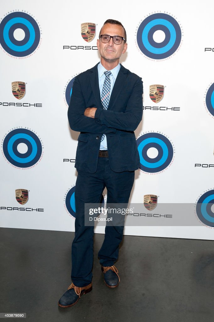 Council of Fashion Designers of America CEO Steven Kolb attends Fashion Targets Breast Cancer at The New Museum on August 20, 2014 in New York City.