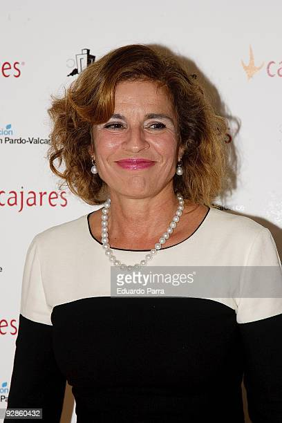 Councilwoman of Madrid Ana Botella attends the 10th annual Capons Benefit auction benefiting young people with special needs at the Hotel Ritz on...