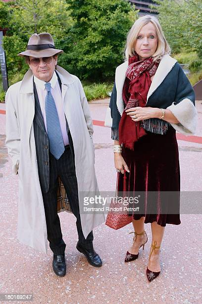 Count and Countess Gerald de Roquemaurel attend 'Friends of Quai Branly Museum Society' dinner party at Musee du Quai Branly on September 9 2013 in...