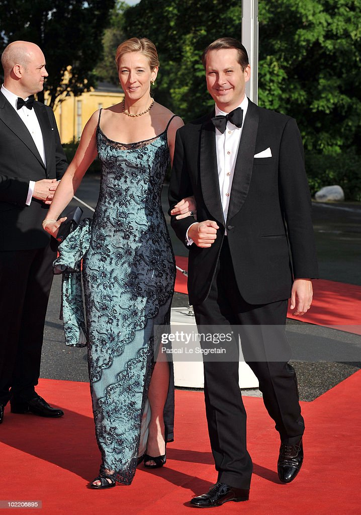 Count Jefferson von Pfeil and Klein-Ellguth attend the Government Pre-Wedding Dinner for Crown Princess Victoria of Sweden and Daniel Westling at The Eric Ericson Hall on June 18, 2010 in Stockholm, Sweden.